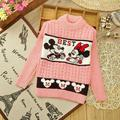 children knitted cheap sweaters baby boys girls cartoon casual fashion pullover outerwear jacket high collar sweater