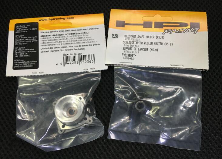 NITRO STAR Savage K5.9 Bearing k5.9 HPI 15294 Engine Pullstart Shaft Holder