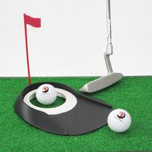 Golf Putting Regulation Cup Hole Flag Indoor Home Yard Outdoor Practice Training