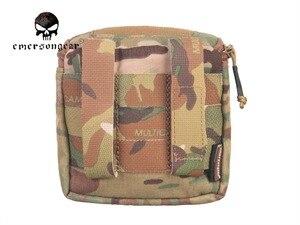 Image 2 - Emersongear bolsa para guantes ocultos, Multicam, MOLLE, campo de batalla, médico, EM9336