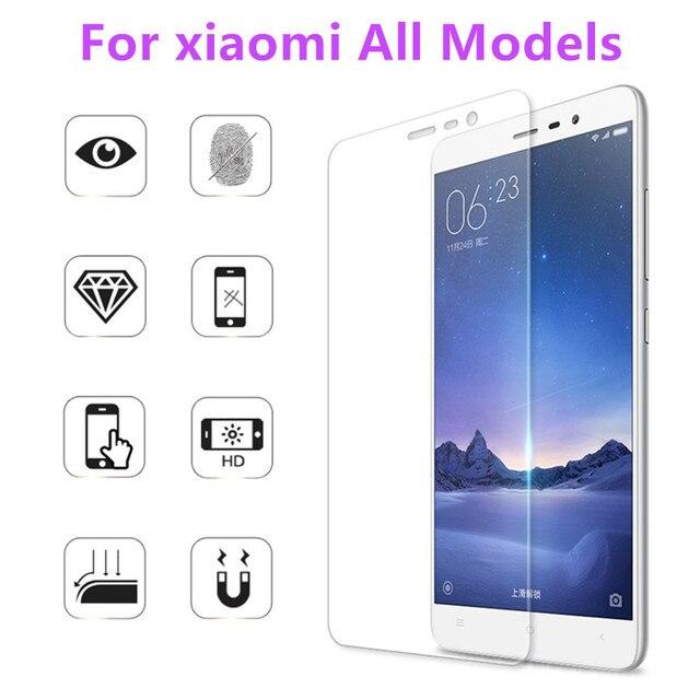 2.5D 0.3mm 9H Premium Tempered Glass for Xiaomi Mi3 / Mi4/Mi5/redmi 3/3s redmi note /2/3 All models Phone Screen Protector Film