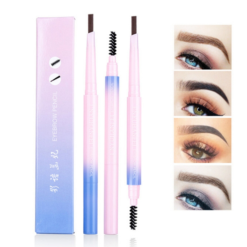 Natural Professional Long Lasting Waterproof Eyebrow Pencil Paint Tattoo Eyebrow Black Cosmetics Brown Eyes Makeup Products image