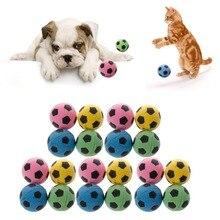 24PCS Non-Noise Cat EVA Ball Soft Foam Soccer Play Balls For Scratching Toy