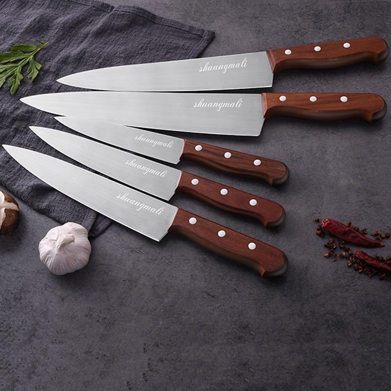 "Aliexpress.com : Buy SML Chef Knife 7""8""9""10""11""Kitchen"
