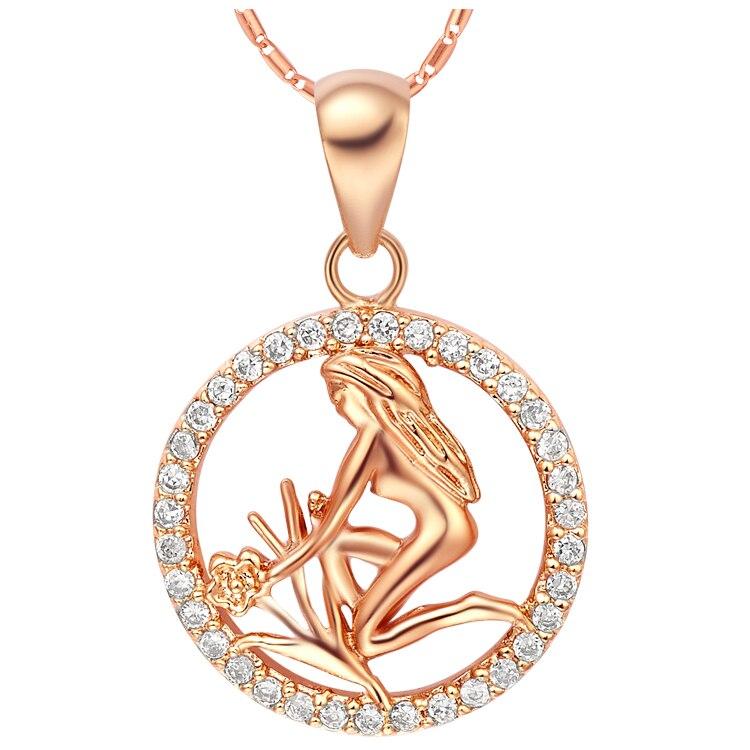 popular gold virgo pendant buy cheap gold virgo pendant