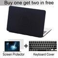 3 в 1 Матовый Дышащей Тип Матовый Чехол Для macbook Air 11 13 Pro 13 15 Pro 13 15 с сетчатки клавиатура крышка