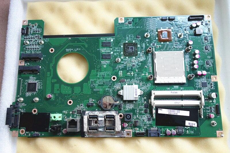 DA0NZ2MB6F0 fit pour hp TouchSmart 310 système carte mère avec vidéo puces à bord 618640-002 618639-001