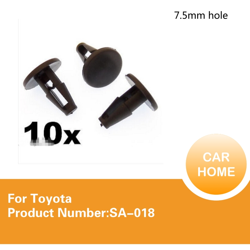 Windscreen Cowl Wheel Arch Linings /& Brake Shields 10x Honda Plastic Trim Clip