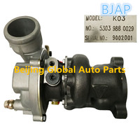BJAP High Quality Turbocharger K03 53039880029 with OEM No.  058145703J for Engine APU 1.8T P Gasoline 1.78dis