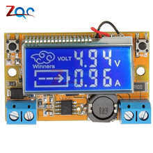 Dual Display DC-DC 5-23V To 0-16.5V 3A Max Step Down Power Supply Buck Converter Adjustable LCD Step-down Voltage Regulator
