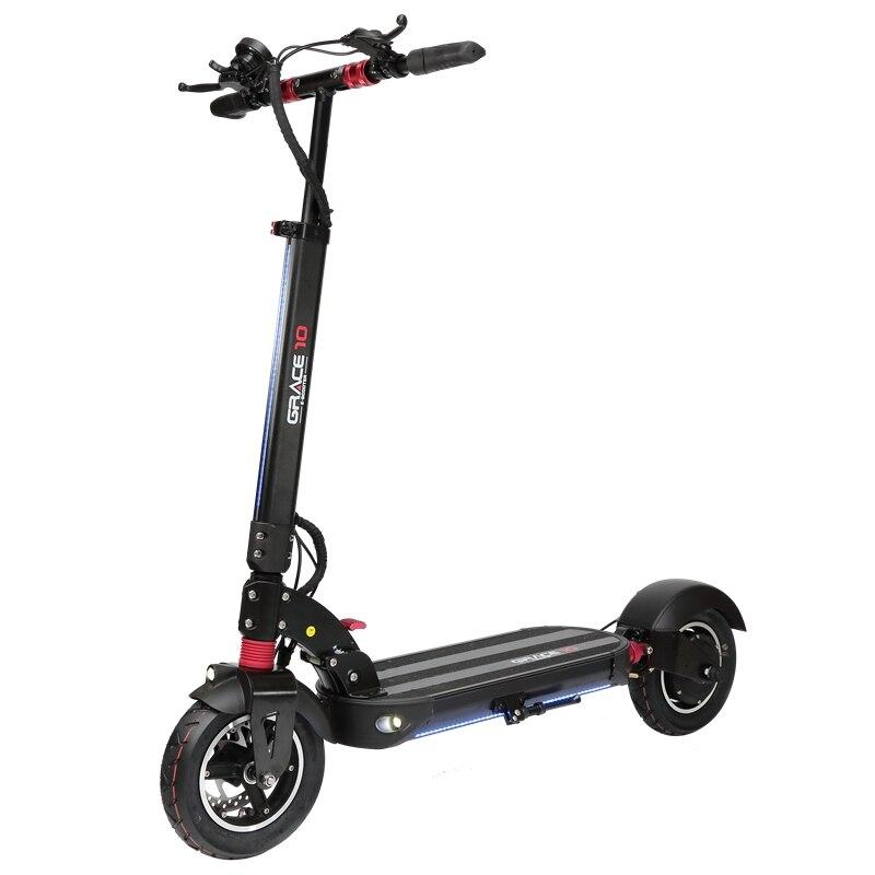 Macury GRACE10 scooter électrique GRACE 10 hoverboard planche à roulettes 2 roues 10 pouces 52V1000W adulte zéro 10 mini pliable ZERO10 - 6