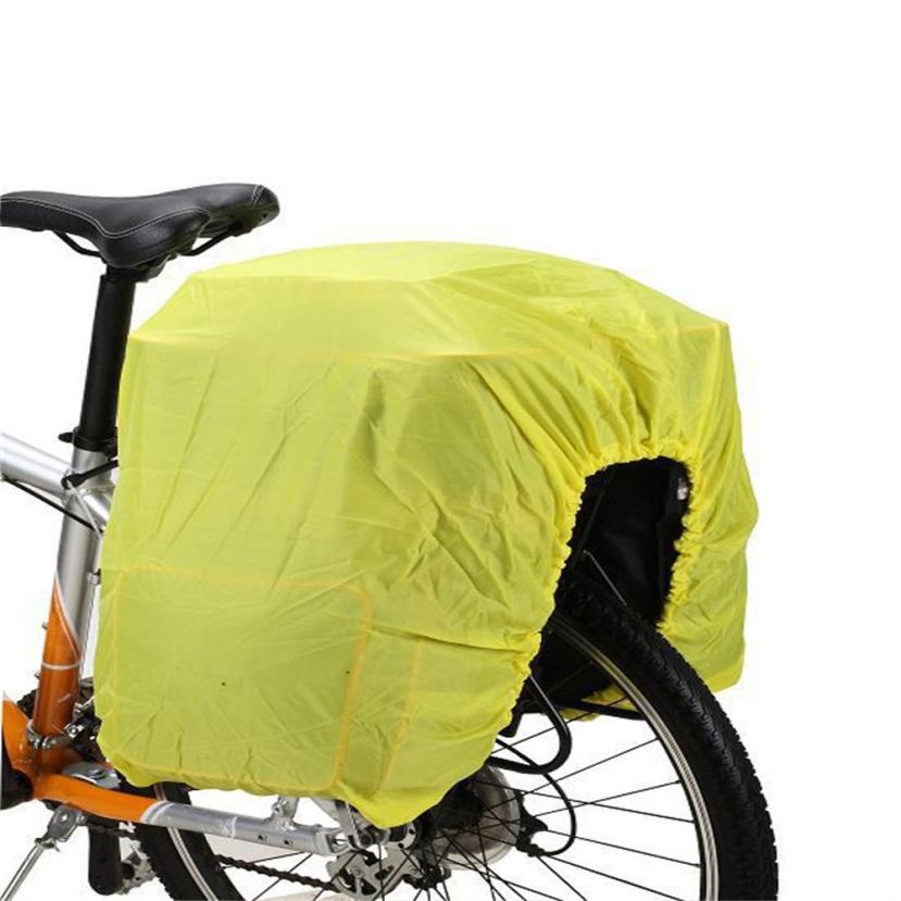 hot reflective waterproof cover bicycle bike rack pack bag dust rain cover youthful outdoor