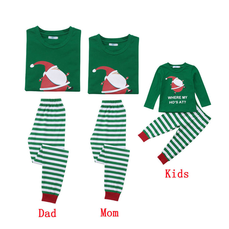 Aliexpress.com   Buy Family Matching Christmas Pjs Outfits Kids Adult  Pajamas Set Striped Sleepwear Nightwear Photography Prop Costume from  Reliable ... 7007a81e0