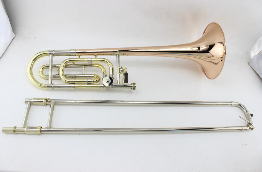 Professional MARGEWATE B Tone F# Tenor Trombone For Students Superior Sandhi Phosphorus & Copper Musical Instrument With Case f gräfe trombone concerto