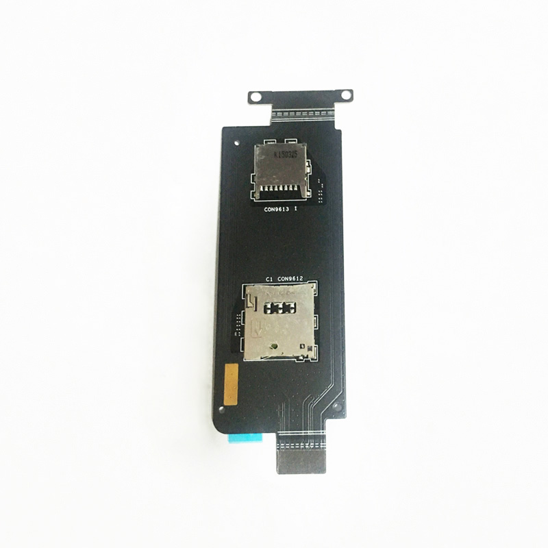 SIM Card Holder Socket Reader Slot Flex Cable For Asus Zenfone Zoom ZX551ML ZX550ML Replacement