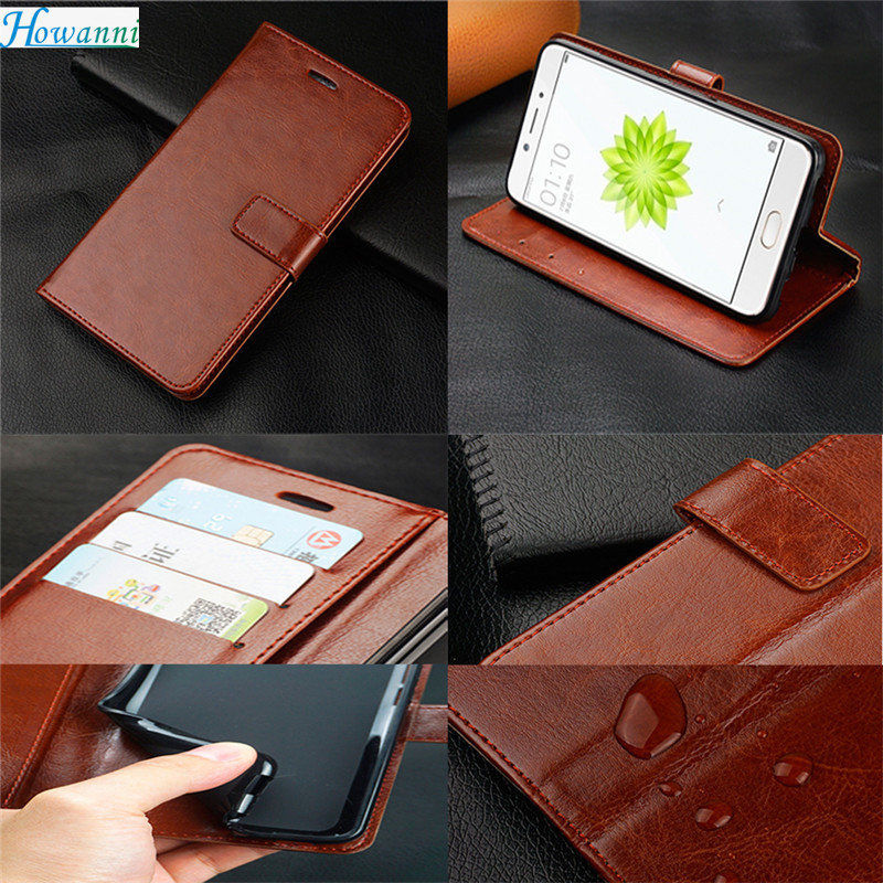 Howanni Leather Phone Case For ZTE nubia Z17 mini Case Flip Wallet Case For ZTE nubia Z17 ZTE nubia Z17S ZTE nubia Z17 mini S