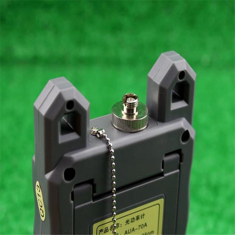 Optisk Fiber Power Meter -70dBm ~ + 10 dBm Fiber Optic PowerAnd 30mW - Kommunikationsutrustning - Foto 3