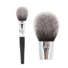 Brocha grande para maquillaje en polvo, suave y esponjoso, domado, cara impecable, mejilla, colorete, bronceador, realce, cosmética, herramienta de belleza