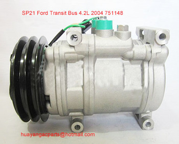 PN #751148 auto ac compressor voor pomp Ford Transit Bus 2004