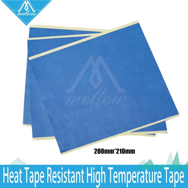 10 pcslots 200mm x 210mm blue painters tape3d printer heat tape resistant - Blue Painters Tape