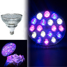 18W E27/B22 PAR38 6 Red + 6 Bulb + 6 White AC85-265V LED Full Spectrum Coral Reef Plant Grow Light Fish Tank Aquarium