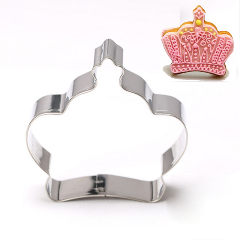 Cake Decorating Crown Cutter : Crown Cookie Cutters Reviews - Online Shopping Crown ...