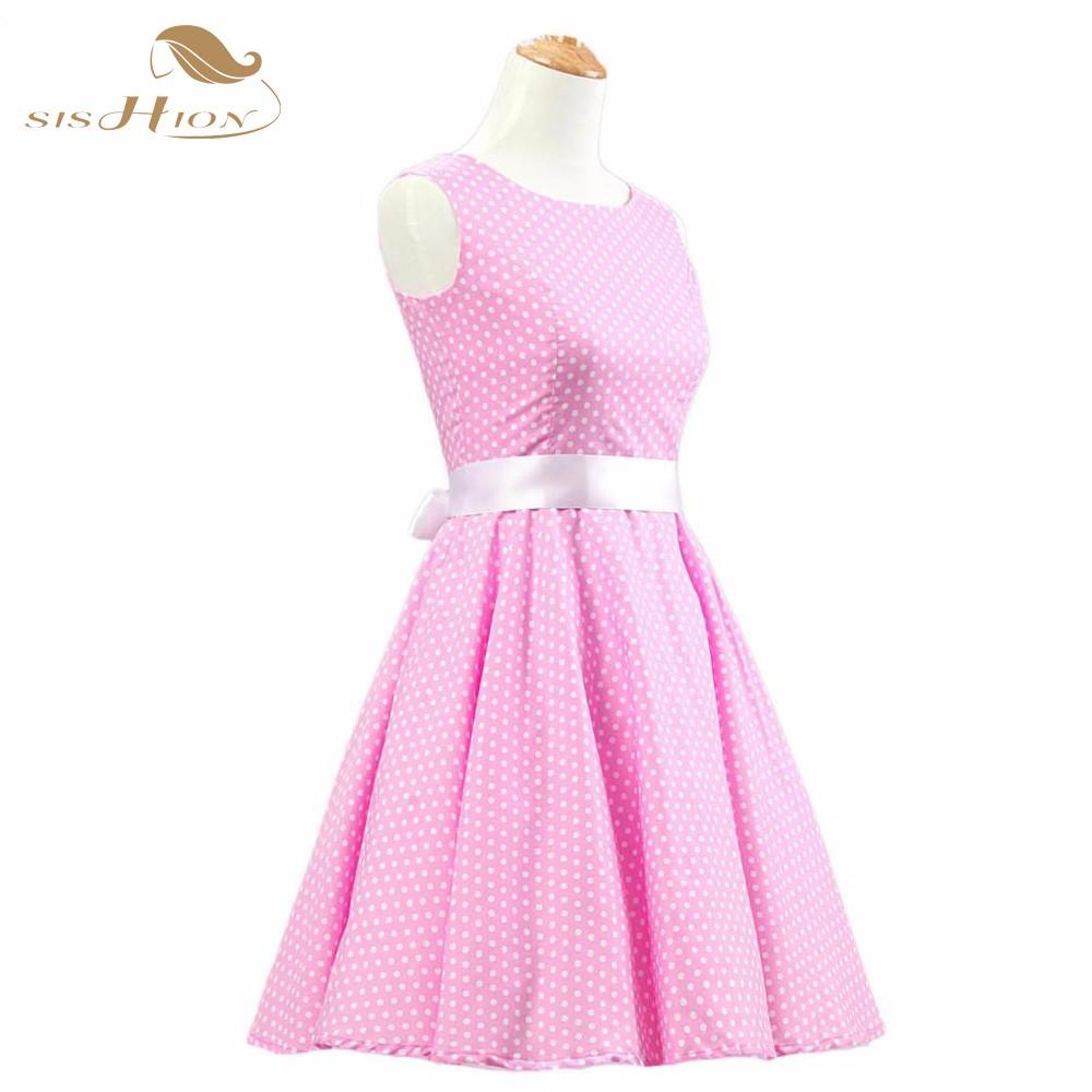 2018 Rockabilly elegante 50 s 60 s Retro Swing Vintage vestidos ...