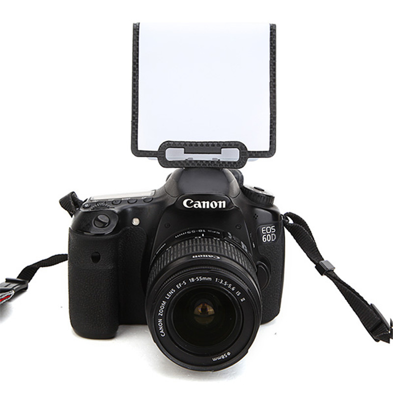 Universal Soft Screen Pop-Up Flash Diffuser For Nikon Canon Pen  Olympus Panasonic Nikon DSLR