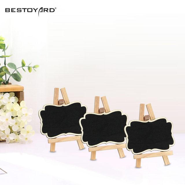 Online Shop Framed Wooden Blackboard Chalk Board Wedding Party Table ...