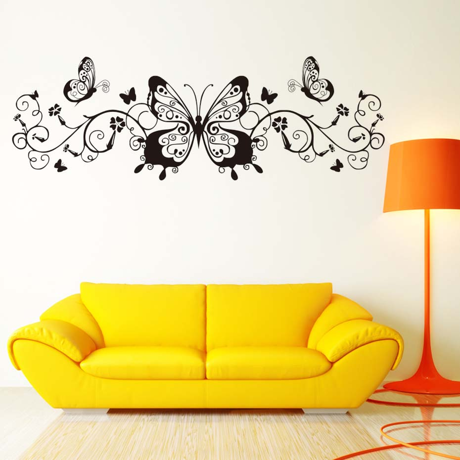 Luxury Umbra Butterfly Wall Decor Embellishment - Gallery Wall Art ...