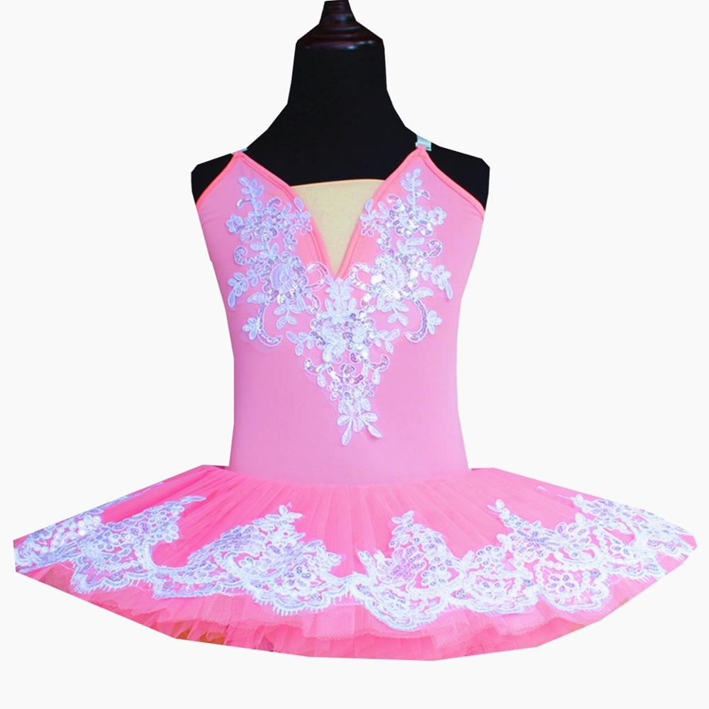 Hot Sale] Children Ballet Dress Belly Dance Ballet Pinky