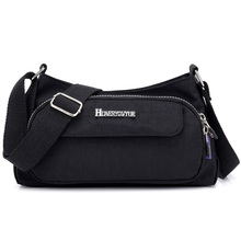 Womens Handbag Fashion Casual Portable Shoulder Bag Light Travel Lady Waterproof Nylon Messenger Multi Pocket Crossbody