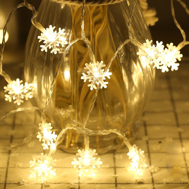 New outdoor snowflake string lights festival waterfall lights for new outdoor snowflake string lights festival waterfall lights for christmas home decoration 3 meters length 20 aloadofball Gallery