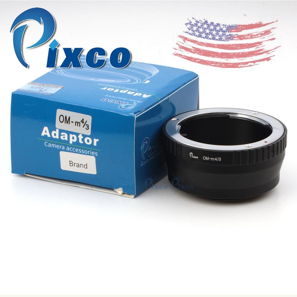 Pixco Lens Adapter Ring Suit For Olympus OM mount lens to MICRO 4/3 m 43 G2 GH1 GF1 GX1 GF5 EP2 EPL3 EP3 Pen E-PL6 E-P5 E-PL5