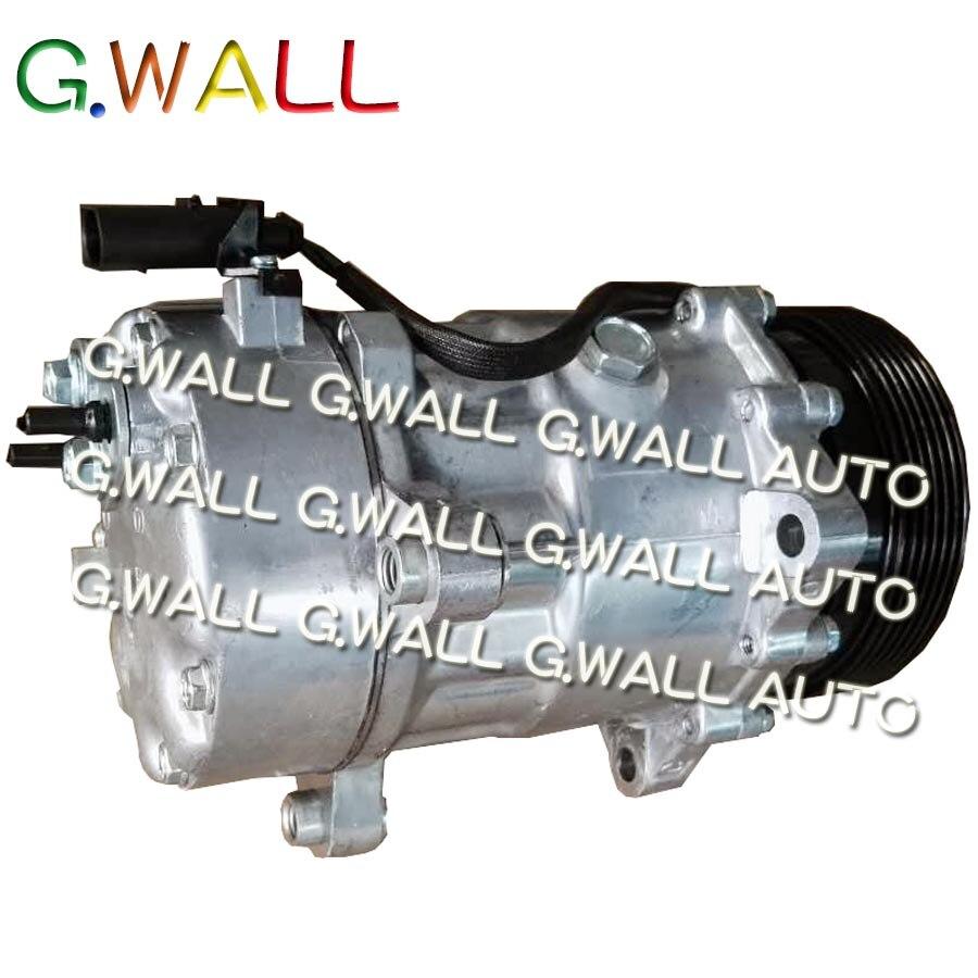 Кондиционер компрессор кондиционер насос для VW Golf 4 IV 1.6 AEH 1J0820803F 1J0 820 803 F