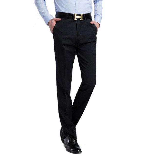 Ropa de marca 2016 Primavera Llegan Nuevos Modelos de Pantalones de Chándal hombres del Algodón Casual Pantalones Rectos De Los Hombres de Negocios MP193