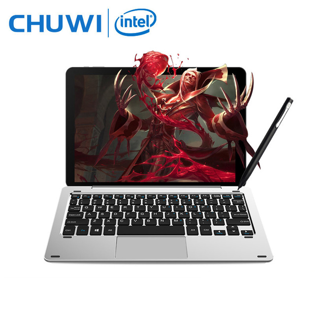 10.1″ Chuwi Hi10 Pro 2 In 1 Tablet PC Superior Metal Tablet Intel Cherry Trail X5-Z8350 Windows 10 & Android 5.1 4G 64G IPS HDMI