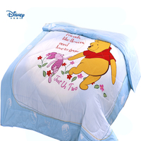 disney winnie the pooh bear thin Comforter stiching Duvet Quilt Filling single twin queen size Throw Blanket summer bed spreads