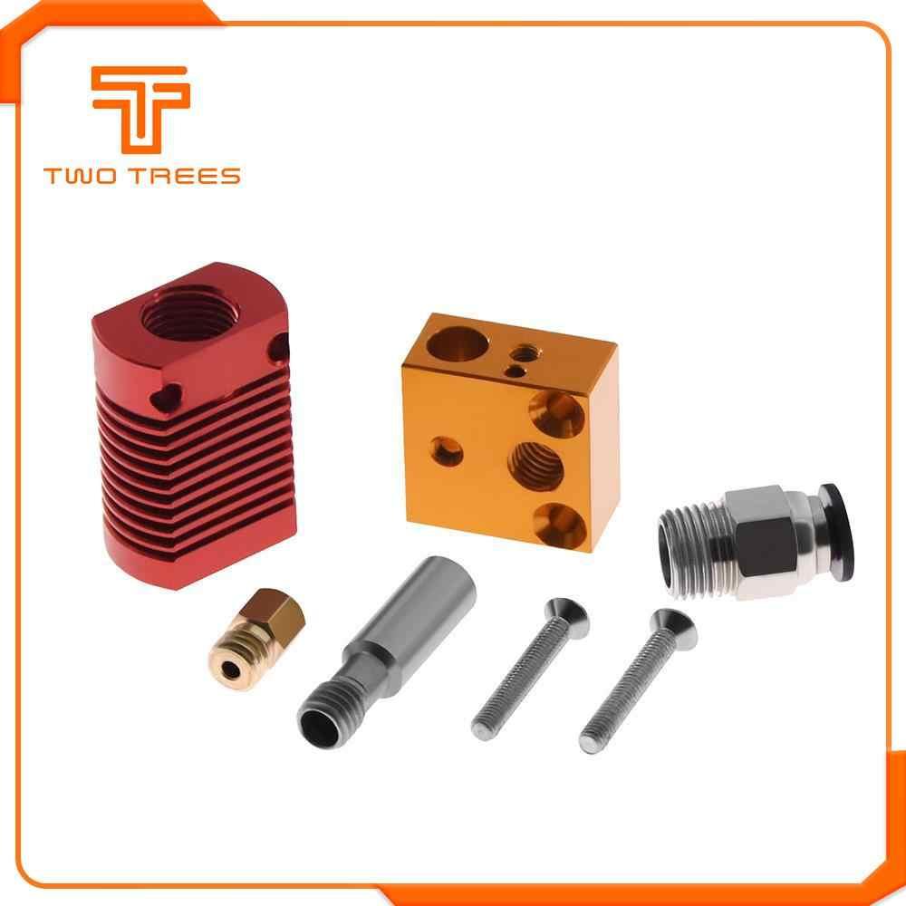 Kit de extrusão de metal para impressora 3d, kit de extrusão de cr10 com extremidade quente para Ender-3/5 pro cr10 bowden extrusor de impressora 3d, peças da impressora 12v/24v