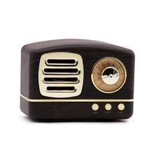 Newest Style Mobile Phone Bluetooth Speaker Innovative Radio Retro Portable Mini Wireless Loudspeaker Speakers