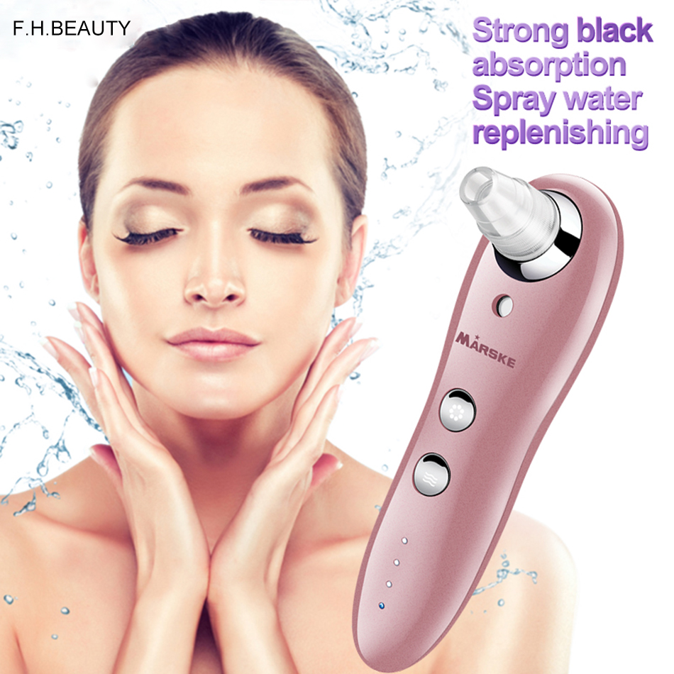 Facial pore vacuum blackhead and comedone remover machine acne extractor cleanser diamond dermabrasion facial massasser deluxe stainless steel comedone extractor cosmetic lancet made by malteser germany