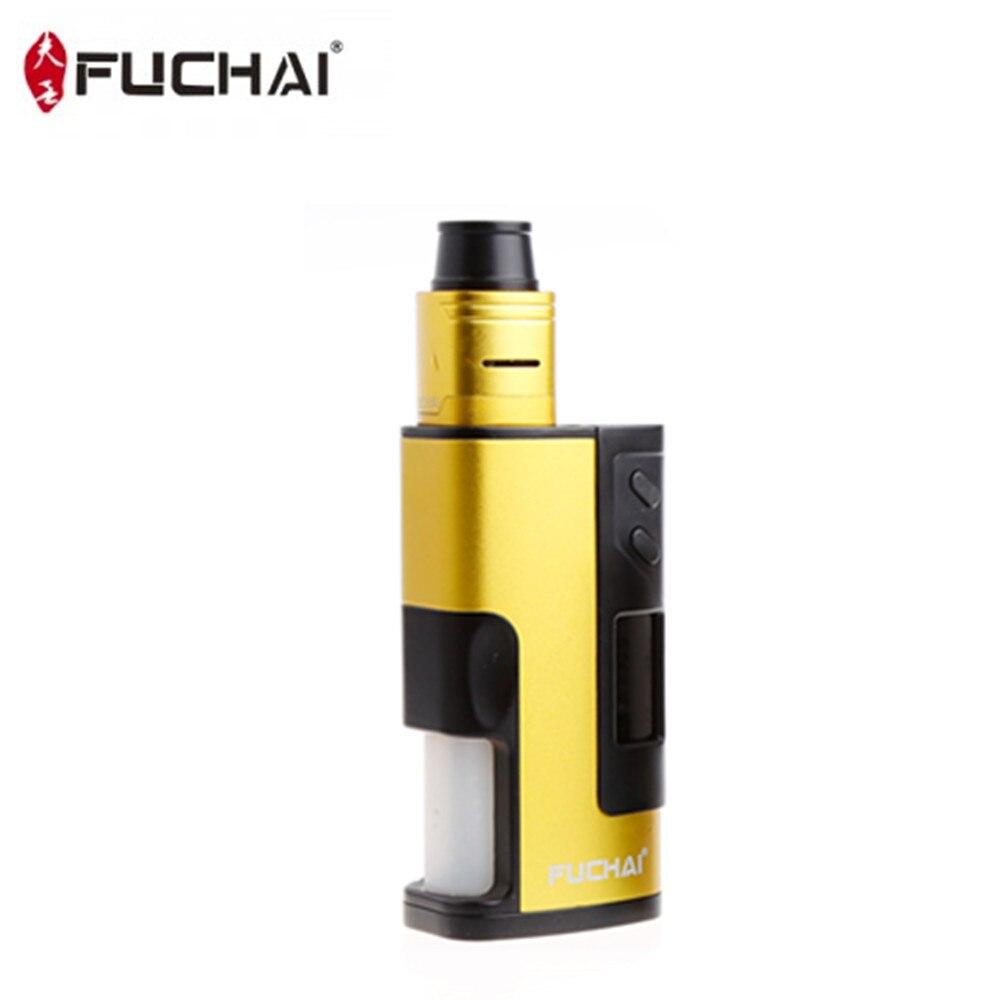Fuchai 213 Squonk Kit 5 ml Capacité 150 w Squonk Boîte Mod E Cigarette Alimenté par 21700 18650 Batterie VS cuboid 150 Vaporisateur Kit - 2