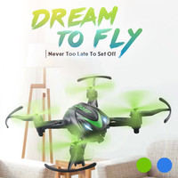 Hot sale Mini JJRC H48 Mini Drone 6 Axis 2.4G RC Micro Quadcopters Remote Control 4LED 360-degree 3D tumbling durable metal gift