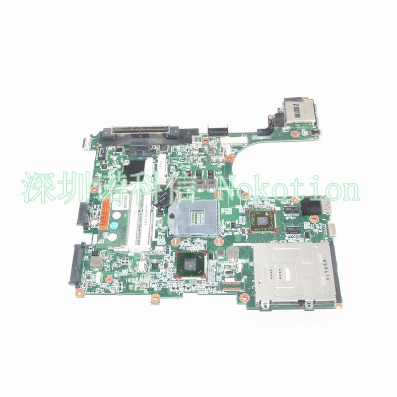 NOKOTION 646967-001 laptop motherboard for HP EliteBook 8560P 6560B HD 6470M Mainboard Full WORKS retro rhinestone embellished s shaped ear cuff for women (one piece