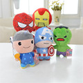 Movies Marvel Avengers  kids stuffed Plush Infant  toys  Anime America spider  man cartoon  baby Toys New year Gift toy   TO118