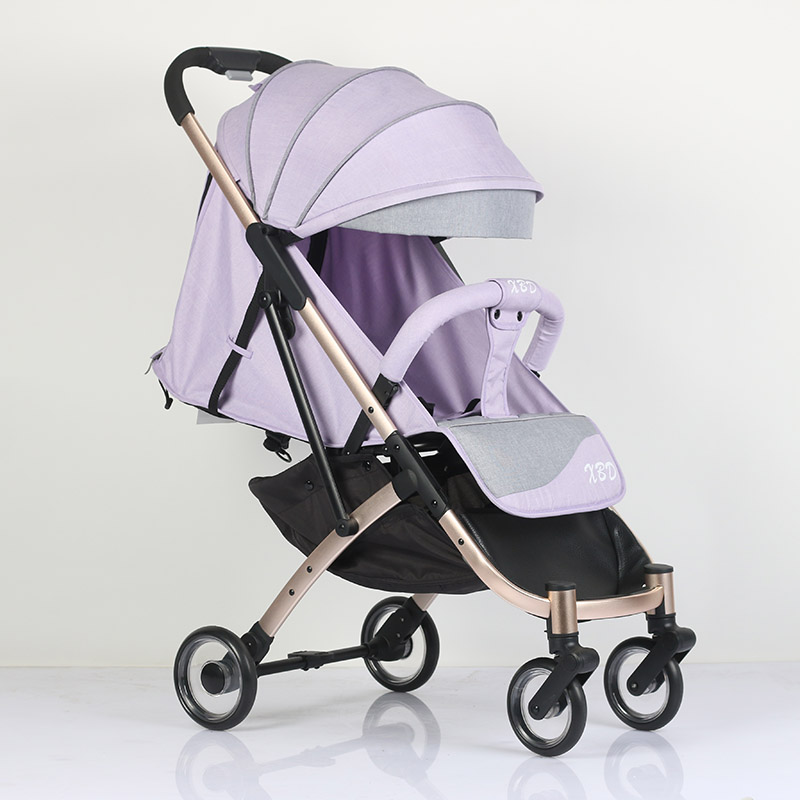 Abdo Light Aluminium Baby Travel Stroller Ultra Light Portable Traveling Baby Pushchair Can Sit Or Lie 175 Degree Stroller