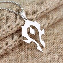 World of Warcraft Horde Emblem Necklace