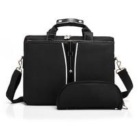15 Inch Universal Men Briefcase Business Shoulder Leather Messenger Bags Computer Laptop Handbag Men S Travel