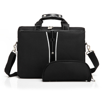 15 Inch Universal Men Briefcase Business Shoulder Leather Messenger Bags Computer Laptop Handbag Men S Travel
