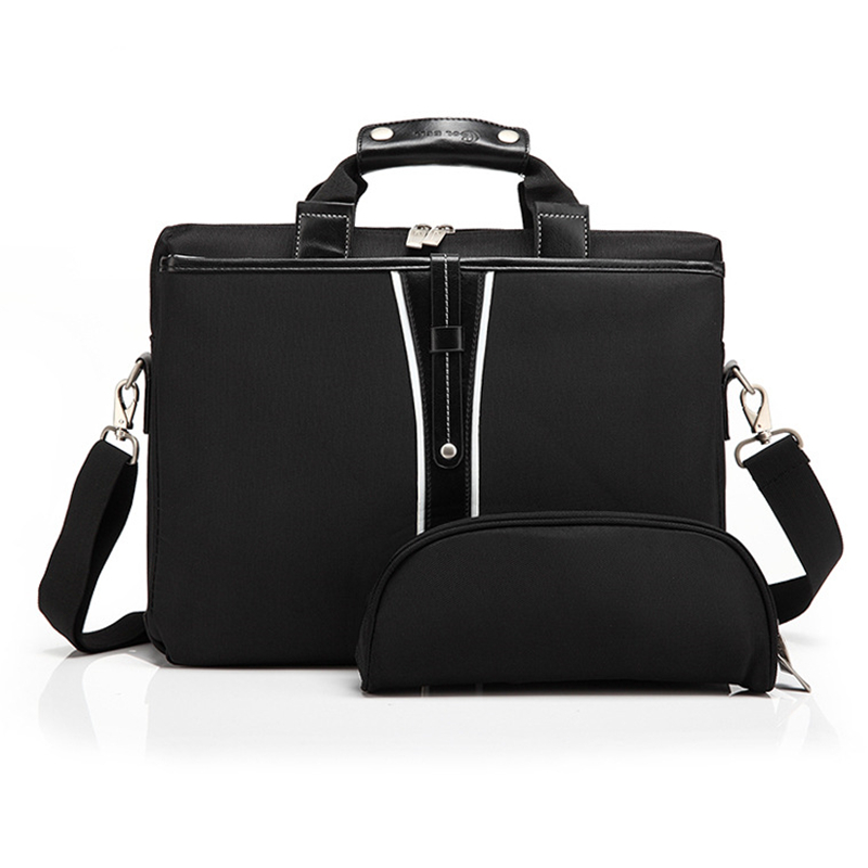 Luxury PU Leather 15 Inch Laptop Briefcase Shoulder Bag for Dell Macbook Lenovo Messenger Bags Laptop Handbag for Women Men Bags